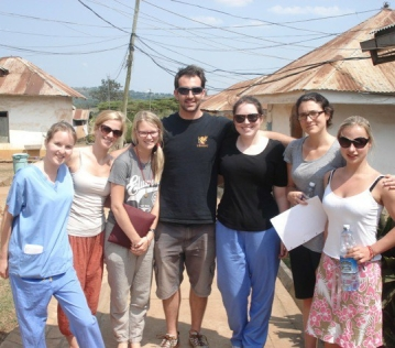 In 2013, 8 students from Bristol Medical School visited Uganda.