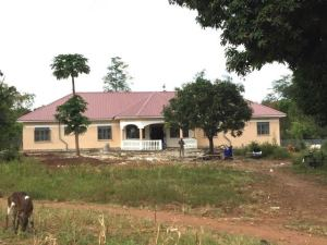 New guest house at Kamuli Hospital, August 2015