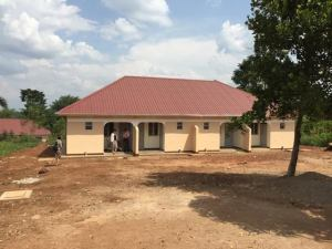 New staff accommodation at Kamuli Hospital, August 2015
