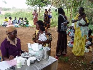 Kamuli outreach clinic
