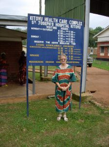 Sister Maura Lynch who has devoted her life to helping young women in Africa.