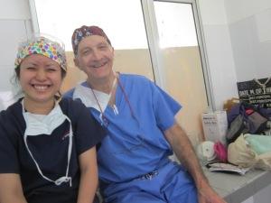 Tom Dehn and Sonia Tsukagochi
