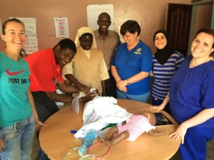 The Vocational Training Team from District 1090 that visited Kamuli Hospital in April 2014.