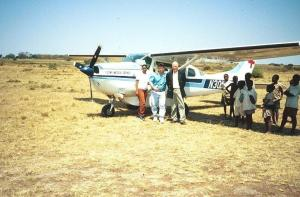 George Mercer in Tanzania