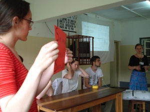 Teaching session with Belgian Medical Students
