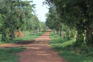 The road to Buluba Hospital
