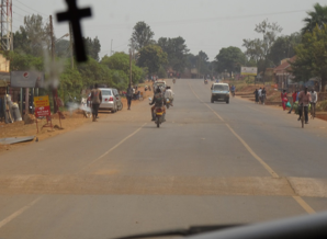 Present day roads