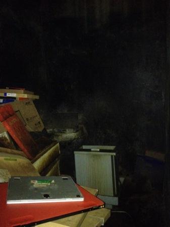 Old darkroom